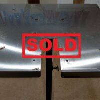 Used Van Dykes Stainless Steel Fleshing Table